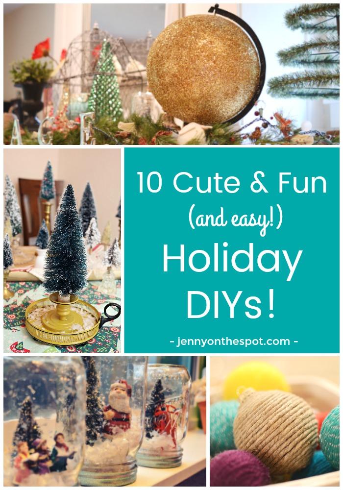 10 Fun Holiday DIYs