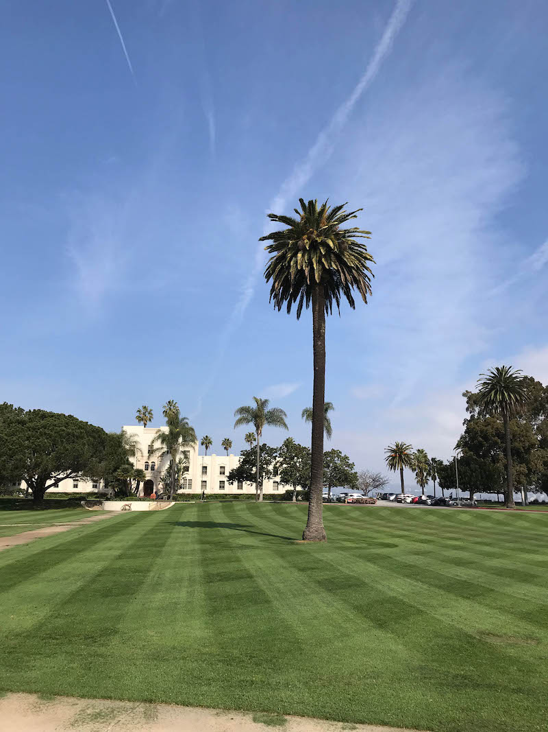 Family Vacation in Los Angeles: College visits (Loyola Marymount)
