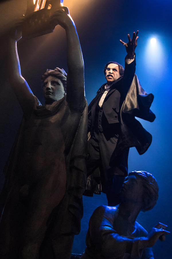 THE PHANTOM OF THE OPERA - Quentin Oliver Lee - photo by Matthew Murphy