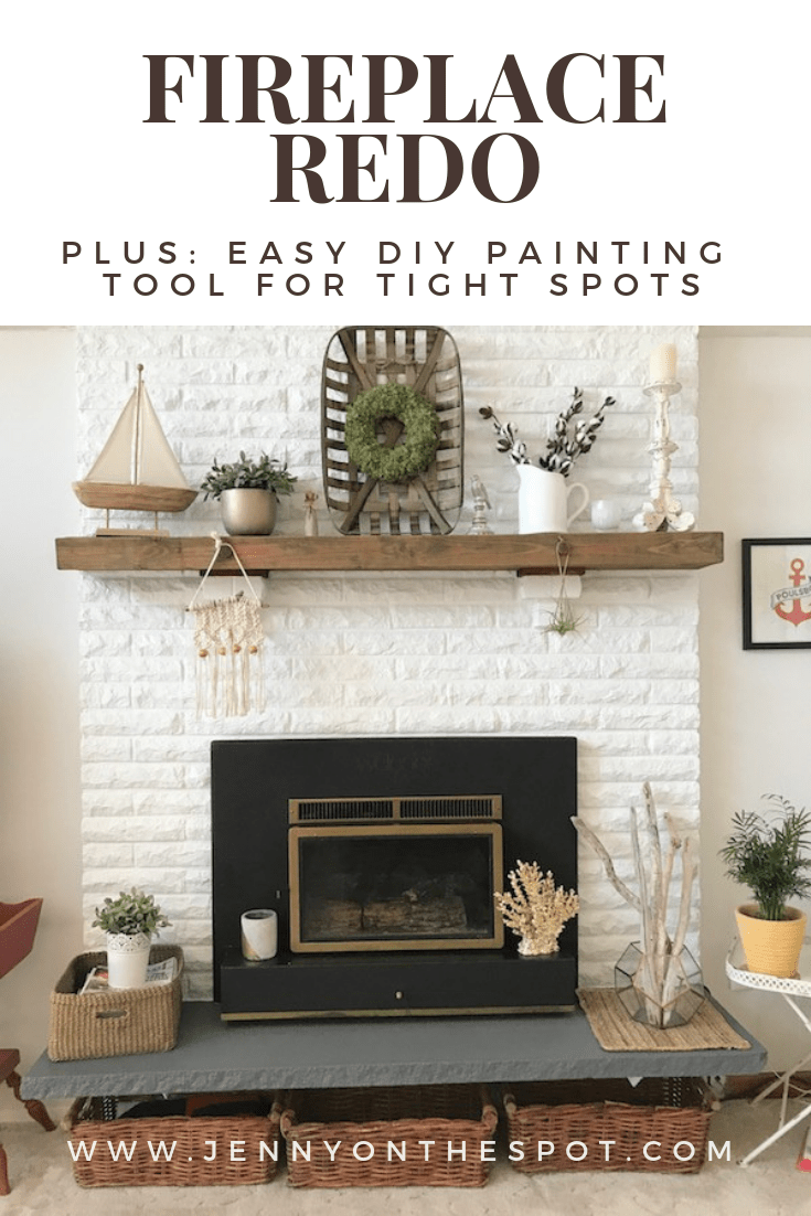 Home Improvement Hack: Easy DIY Painting Tool for a Tight Spot