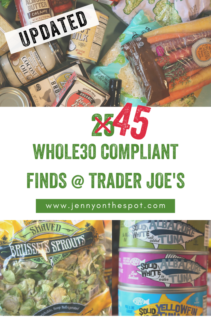 Over 25 Whole30 Compliant Foods Finds at Trader Joe's