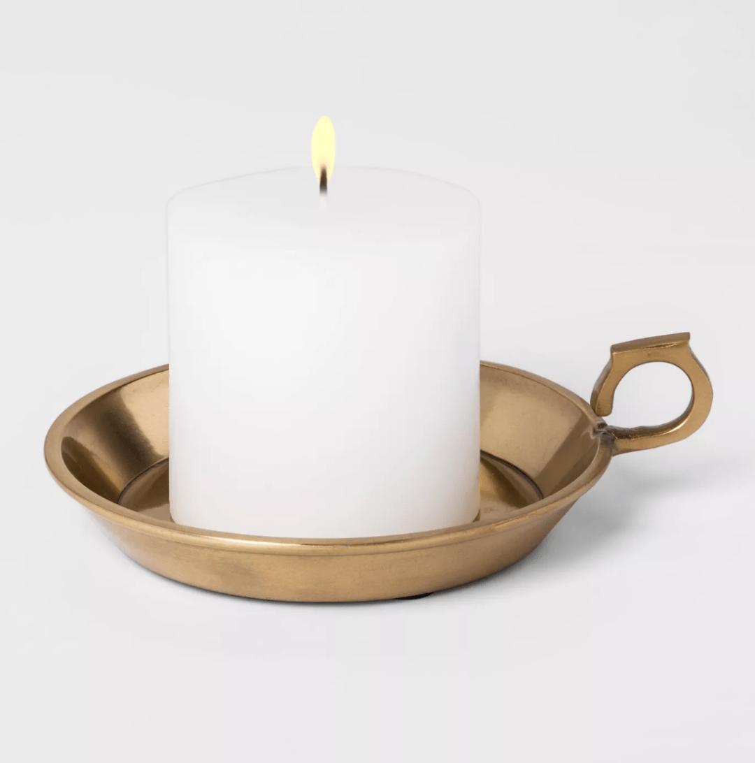 Votive Candle Dish
