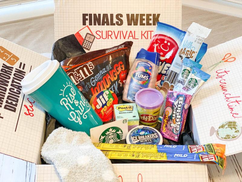 Finals Week Survival Kit - College Care Pakcage