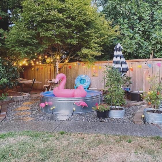 Stock Tank Pool DIY - Backyard Oasis