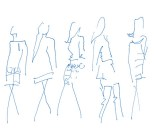 jasper conran sketches 2 - lfw aw11 - jenny robins