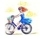 jenny robins - emily bicycle
