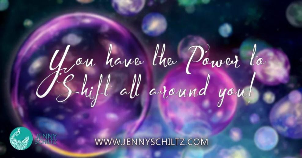 你有權力轉移到你周圍