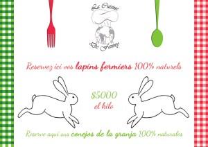 Affiche Lapins Cuisine de Fanny