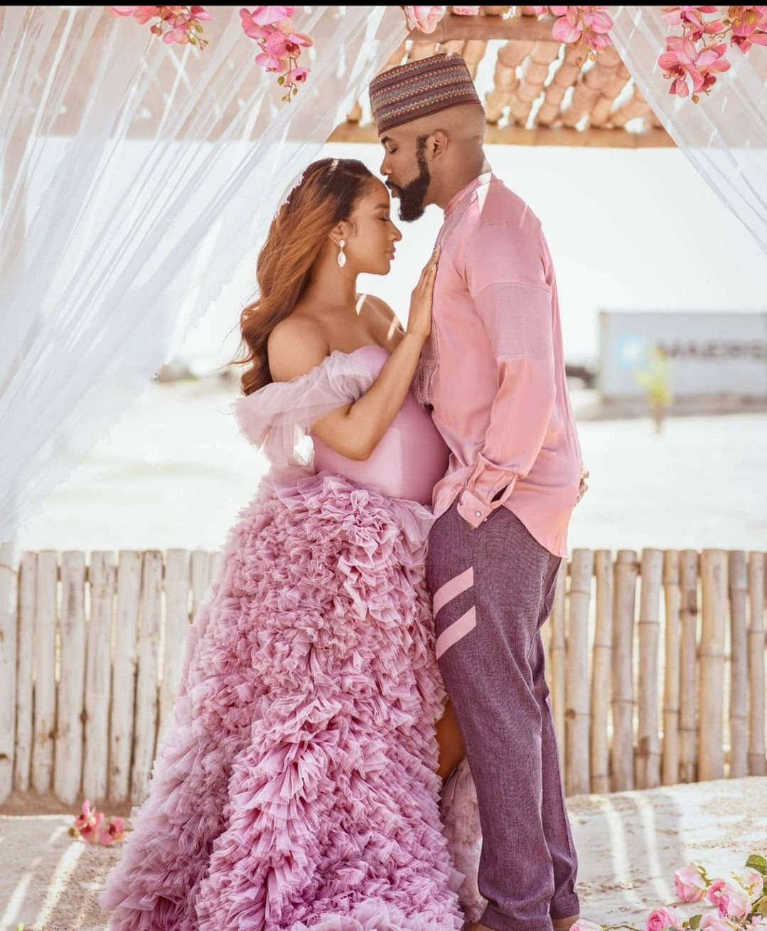 Adesua Etomi and Banky W welcome their Son