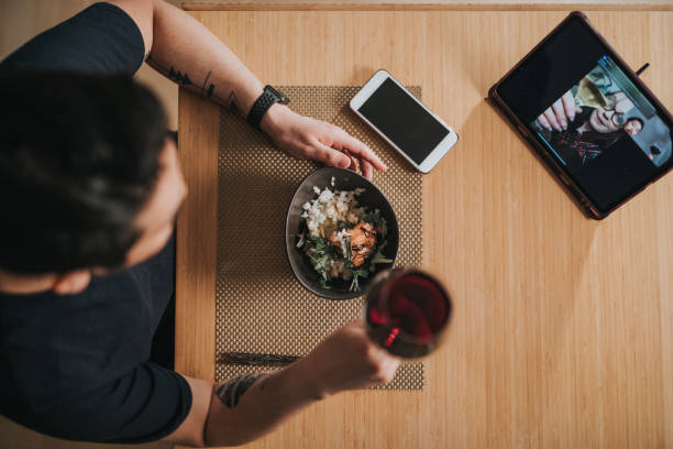 Virtual Dinner Dates in Long distance relationships