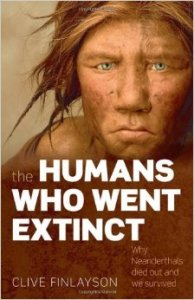The Humans Who Went Extinct by Finlayson book cover