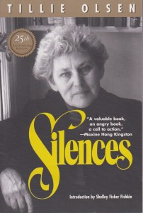 Silences by Tillie Olsen 25th anniversary book cover