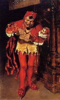 The Court Jester by William Merritt Chase a famous image of jesters