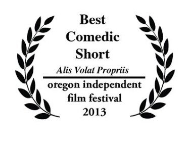 OIFF Laurels for FiLMLaB win for Best Comedic Short