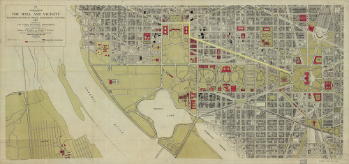 Washington DC 1920s Maps Jenny S Schrader