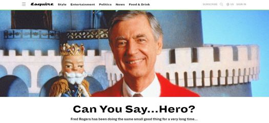 Mr Rogers Welcome