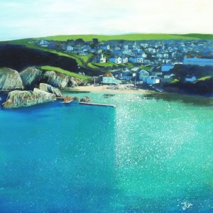 hope cove in south devon by jenny urquhart