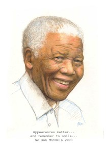 nelson mandela said appearances matter and remember to smile by jenny urquhart