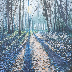early morning in leigh woods by jenny urquhart