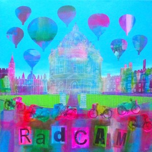 radcliffe camera in oxford university by jenny urquhart