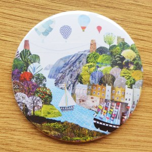 flags a flyin fridge magnet by Jenny Urquhart