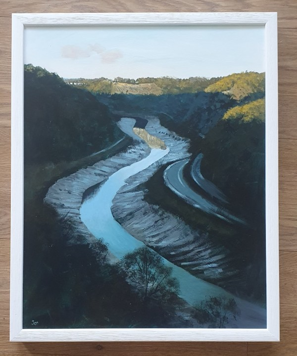 Late afternoon in the gorge by Jenny Urquhart