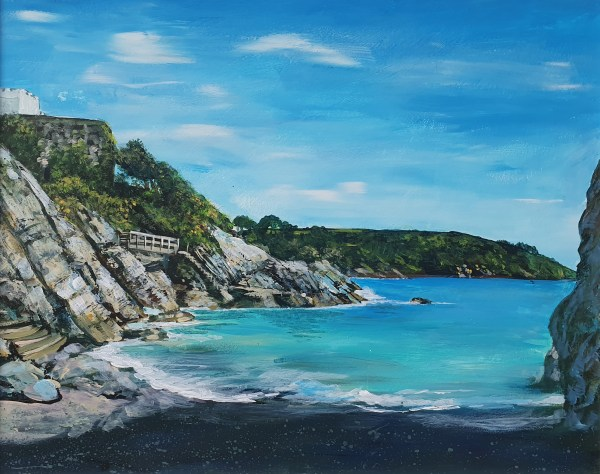 Castle Cove in Dartmouth by Jenny Urquhart