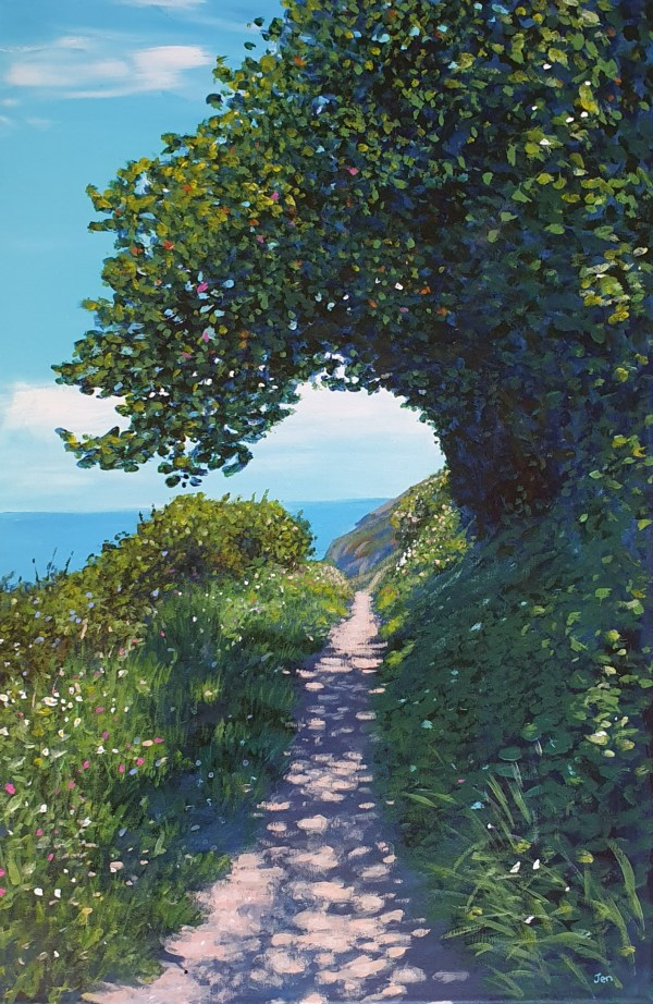 Path round the headland by Jenny Urquhart