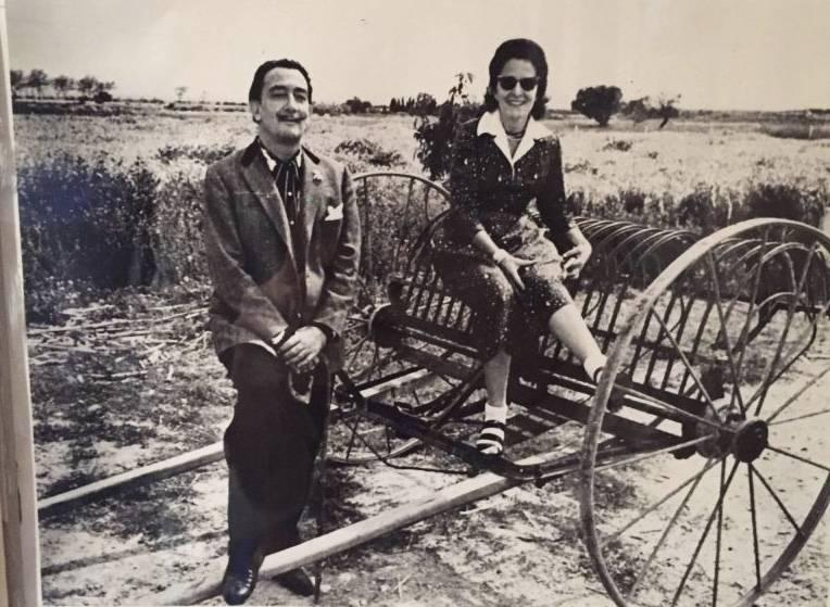 Photo of Dali and Gala from his personal collection