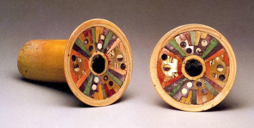 Pre-columbian art pieces