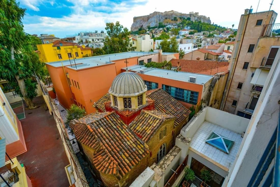 Rooftops of Athens