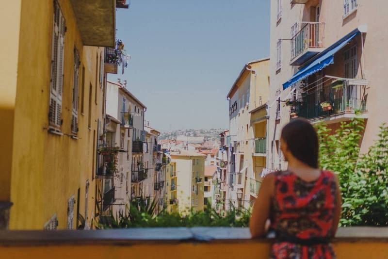 Views of downtown Nice