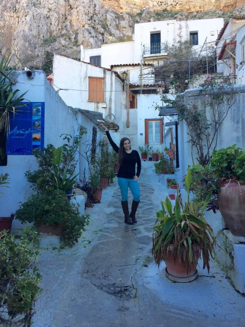 Buildings that look like Greek Islands