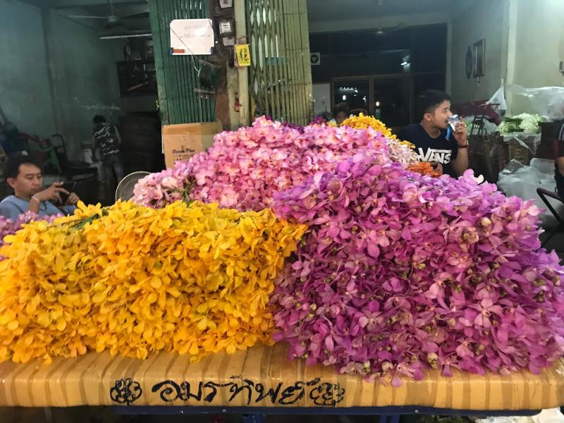 Take an evening tuk-tuk tour of Bangkok and see the city at night. Explore temples, try the best Pad Thai in the city and visit the flower market on this 4-hour tour with Expique. Save to your travel board for inspiration.