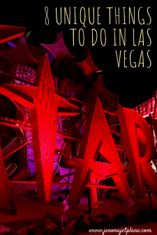 Looking for unique things to do in Las Vegas, Nevada? These weird and wonderful attractions will keep you entertained, no gambling required. Don't miss out on these little-known places, click to read more and save to your travel board for future reference. #vegas #traveltips #neonmuseum #lasvegas #travelusa