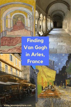Did you know you can visit the real life places Van Gogh painted on a self-guided art tour of the South of France? Here's everything you need to know to chase Vincent Van Gogh in France. Save to your travel board for future reference! #vangogh #vangoghart #arlesfrance #southoffrance #francetravel #francetraveltips #arlesfrancevangogh