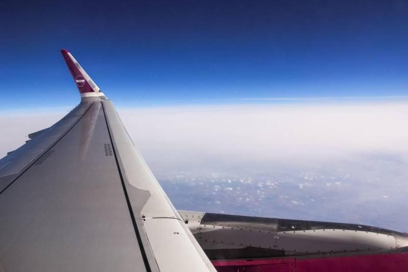 Wow Air wing