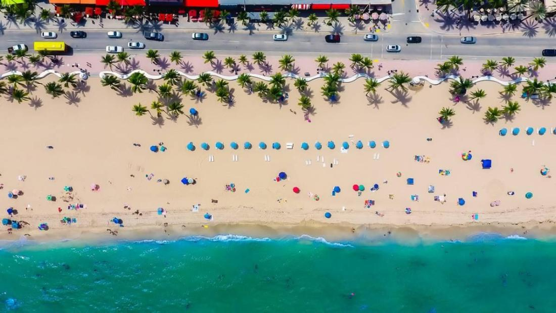 Day trips in Florida to Fort Lauderdale Beach