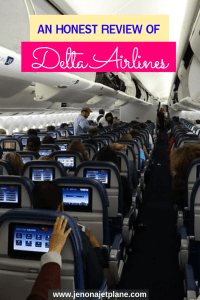 I've flown with Delta more than a dozen times this year alone. Not a single flight has been without issue. Read my Delta Airlines review before you book and save yourself the headache on your next trip. #traveltips #deltaairlines #deltaairlinestips #airlinetraveltips