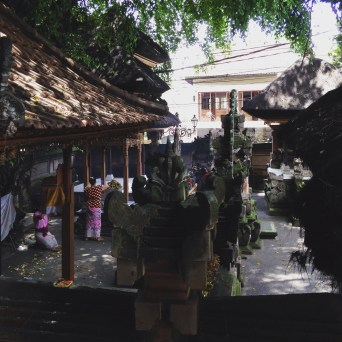 The city of Ubud