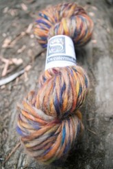 i bought some bc handspun yarn for a souvenir