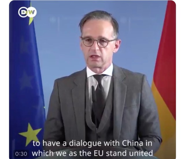 欧盟开会讨论中国问题 避提制裁 EU criticizes China over Hong Kong but no action planned
