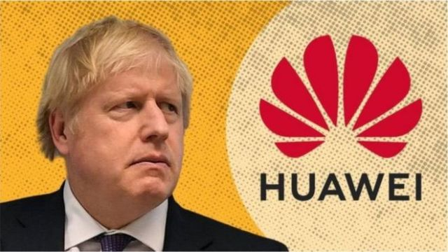 英国选边美国 将全面禁用华为5G设备 U.K. to Ban Huawei From Its 5G Networks Amid China-U.S. Tensions
