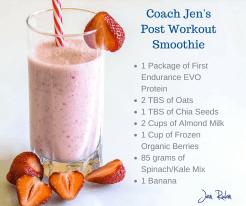 Coach Jen's Post Workout Smoothie