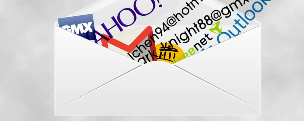 Schlechte E-Mail-Adressen optimieren