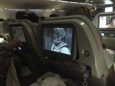 Good neighbor watching the best movie ever - Interstellar :)