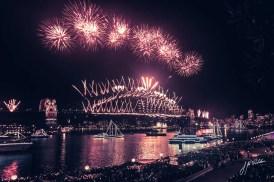 Sydney Fireworks after