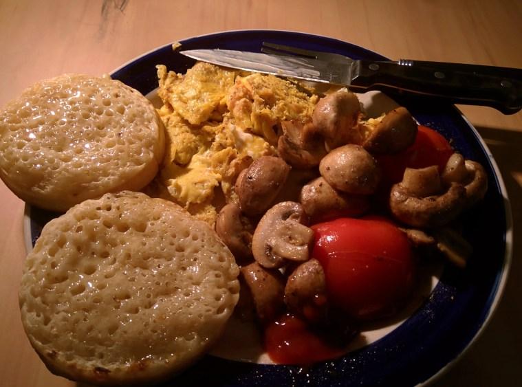 Making myself a yummy breakfast :)