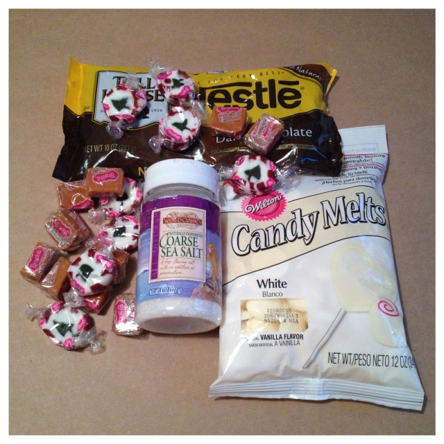 Chocolate Covered Peppermints and Caramels Supplies