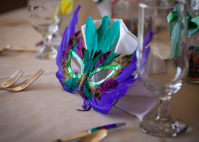 Mardi Gras Mask Favor